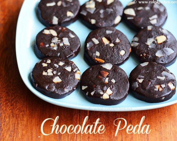 chocolate-peda