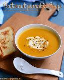 Butternut pumpkin soup recipe