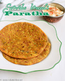 Sprouts broccoli paratha recipe