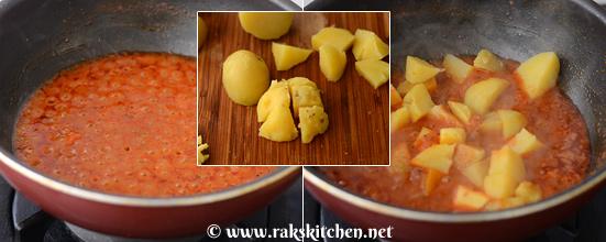 how to make rasawala aloo step 4