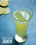 Rsugarcane juice recipe