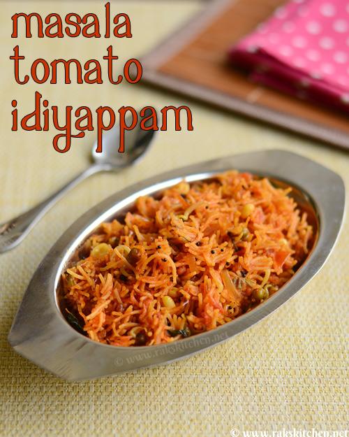 masala tomato idiyappam