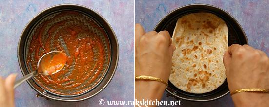 Roti lasagna step 7