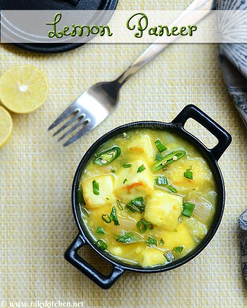 Lemon-paneer-recipe