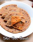 Bhel puri paratha recipe