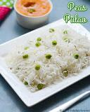 Peas pulao no onion no garlic recipe