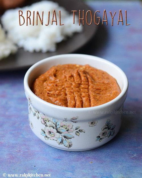 brinjal-thogayal