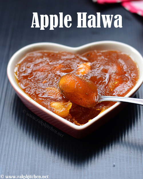 apple-halwa-preparation