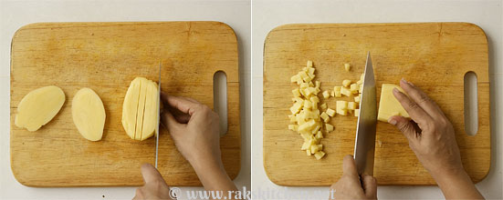 Potato fry step 2
