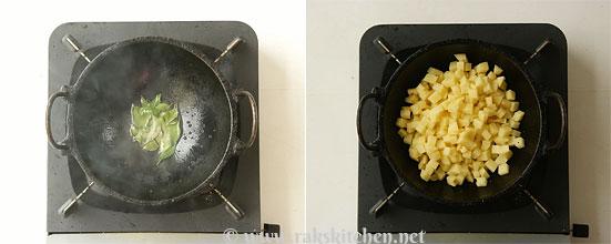 Potato fry step 3