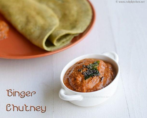 ginger-chutney