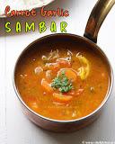 Carrot sambar recipe