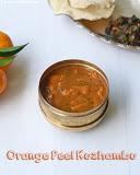 Orange peel vatha kuzhambu recipe