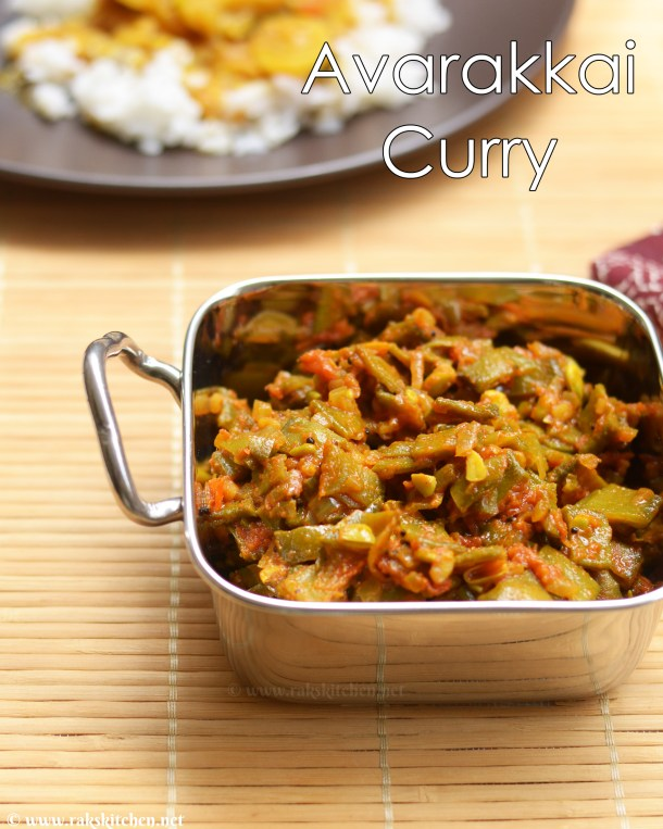 avarakkai curry