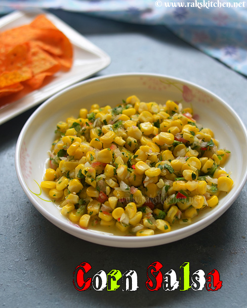Sweet corn salsa