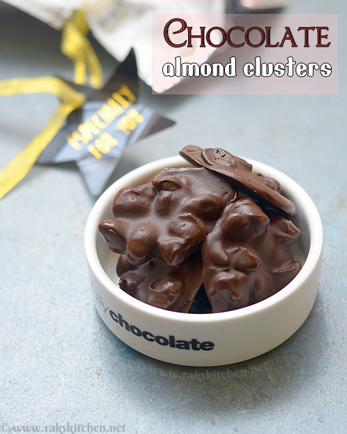 almond-chocolate-clusters