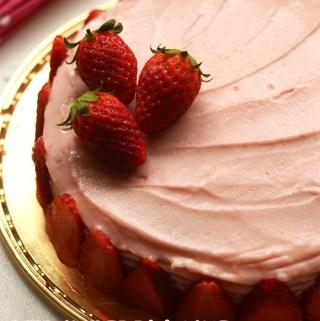 eggless-strawberry-cake