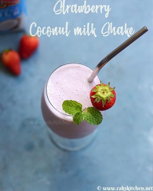 توت فرنگی-نارگیل-شیرخشک
