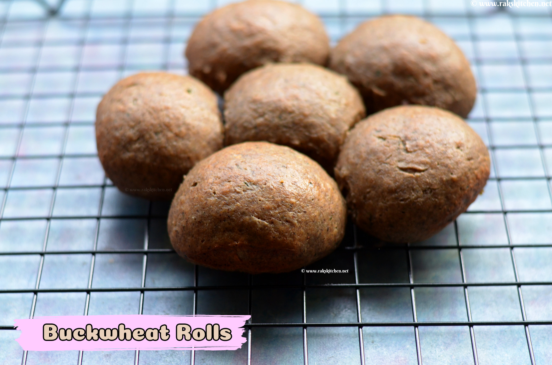 Savory Buckwheat dinner rolls recipe 3