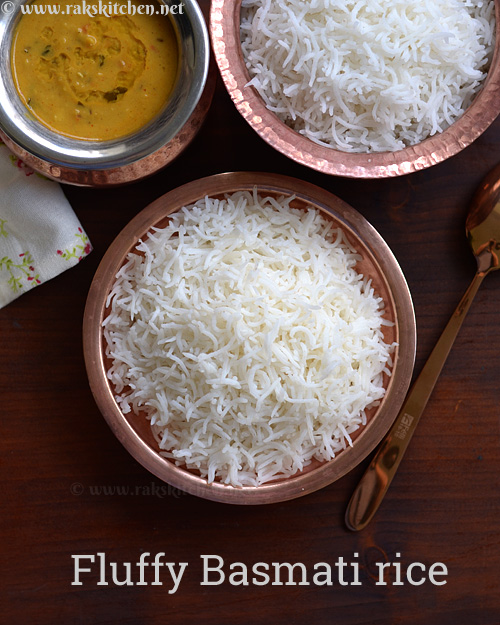 Perfect basmati rice