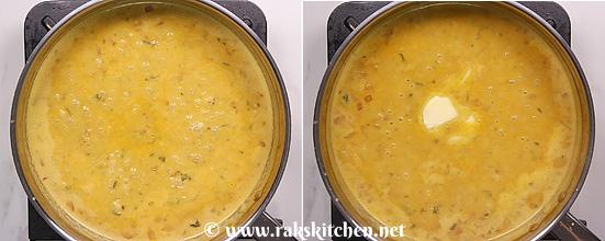 Receita de manteiga dal fry, rica e cremosa 19