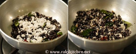 Sundal de feijão preto, receitas rápidas de sundal 7