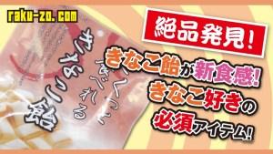 【絶品発見!】きなこ飴が新食感!きなこ好きの必須アイテム!のタイトル画像
