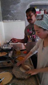 インド料理レッスン