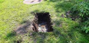 Pit firing hole