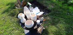 Pottery for pit firing