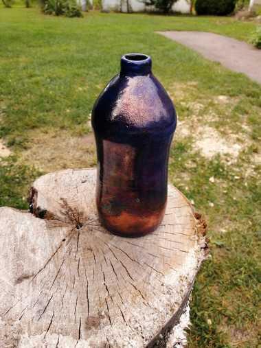 Louwala-Clough - Raku Pottery Vase