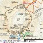 富士山登山-登山路線篇-富士山山頂-劍峰-鉢巡路線