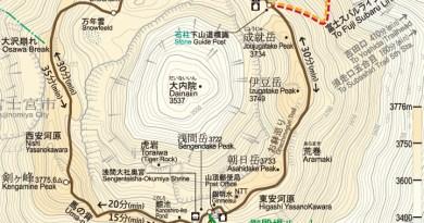 山頂鉢巡線地圖