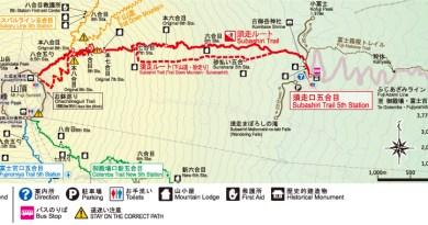 富士山登山_登山路線