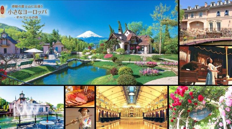 河口湖自由行-河口湖音樂盒之森美術館-富士山下的音樂空間