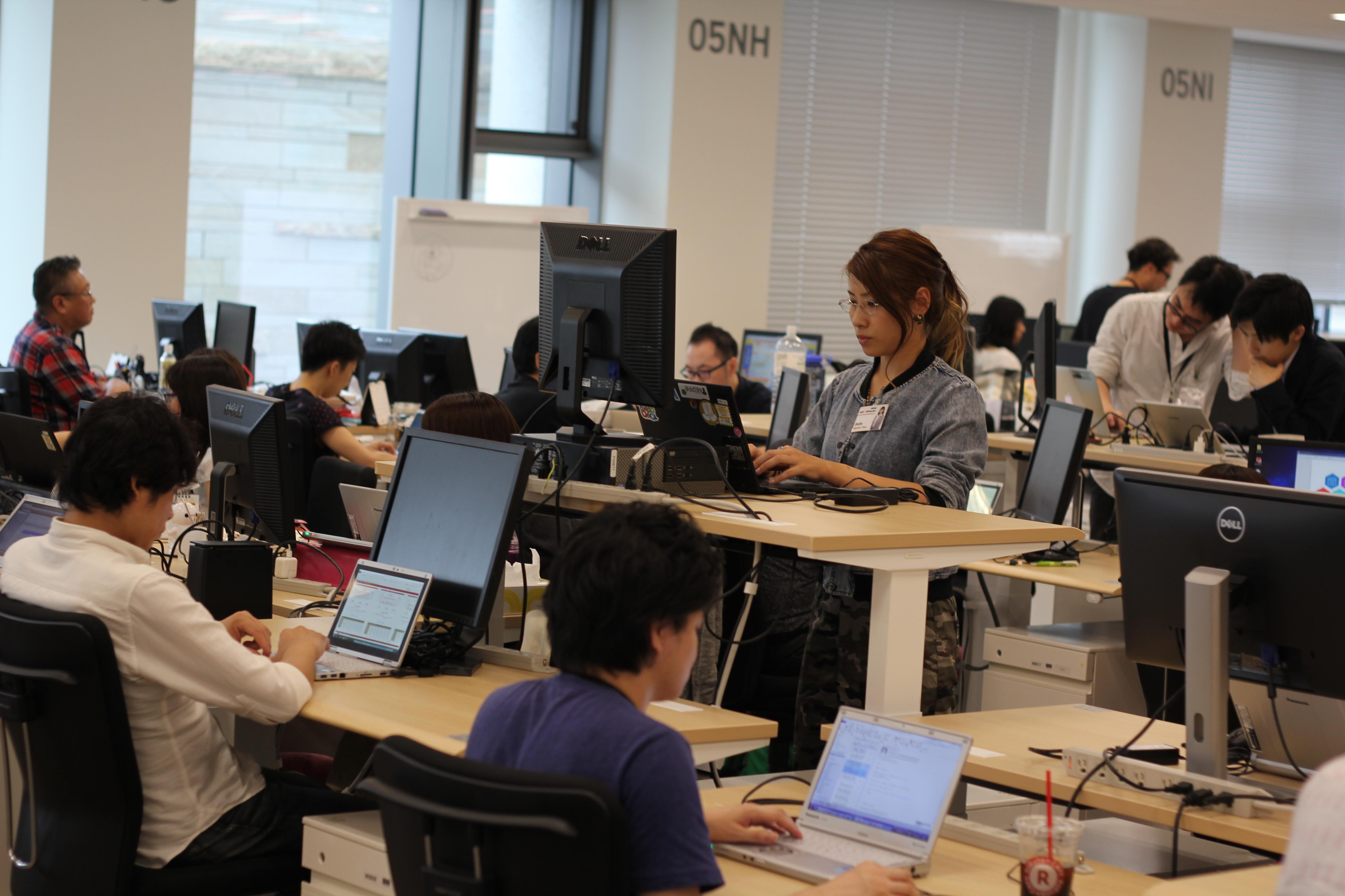 Office design innovation at Rakuten