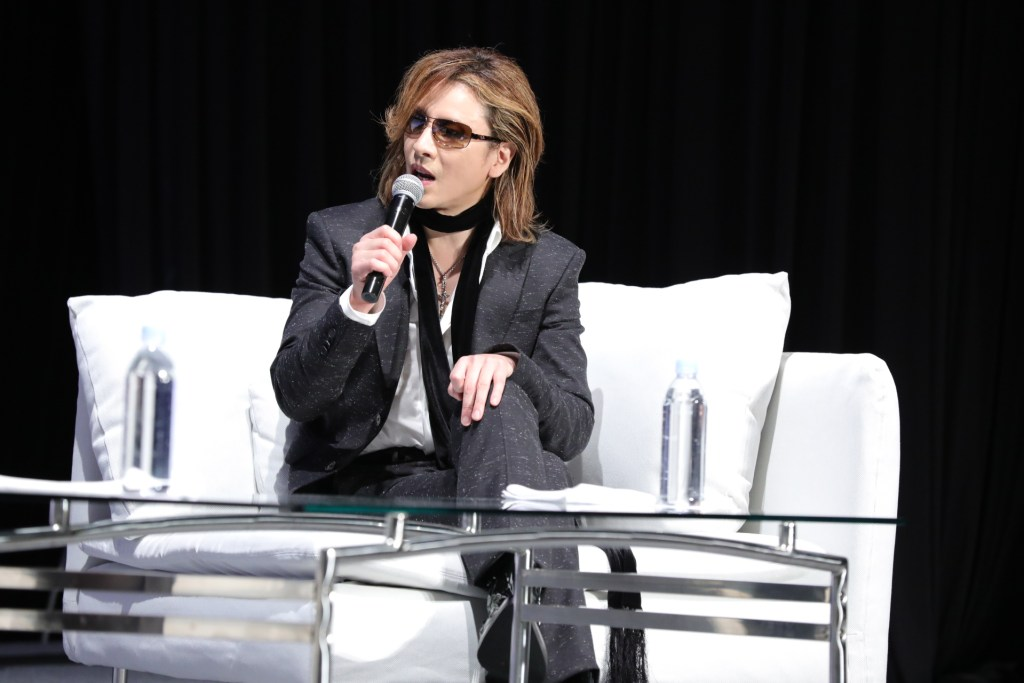 """""""Japanese culture is becoming even more popular around the world. I can taste Japanese food almost everywhere,"""" Yoshiki said."""