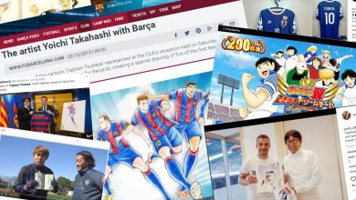 Captain Tsubasa is the fictional lead character of a Japanese manga series that bears his name. Originally created by Yoichi Takahashi, Captain Tsubasa is one of the most successful manga of all-time, with sales of over 82 million copies worldwide and he is a favourite of Vissel Kobe superstar Lukas Podolski.