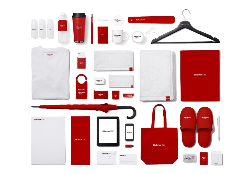 Rooms will also be equipped with a variety of Rakuten STAY branded amenities.