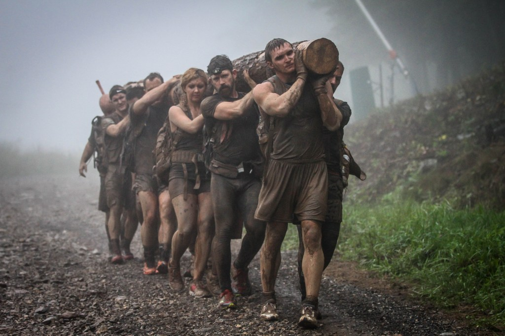 """""""People got excited. It felt like a real-life video game,"""" De Sena said. """"And it was transformative. People would cross the finish line and you could literally see that their whole being had changed."""""""