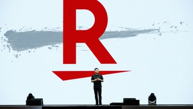 """Rakuten's new logo tells the story of what the company hopes to achieve in the coming year.Here's the meaning behind the Rakuten """"slash."""""""