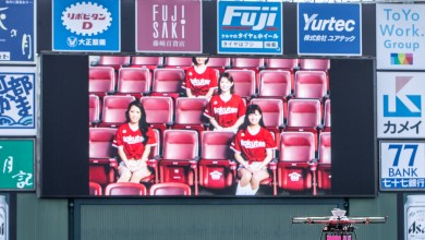 "Rakuten Mobile Network held a trial of a ""smart stadium"" concept aimed at demonstrating the extensive applications of 5G network technologies."