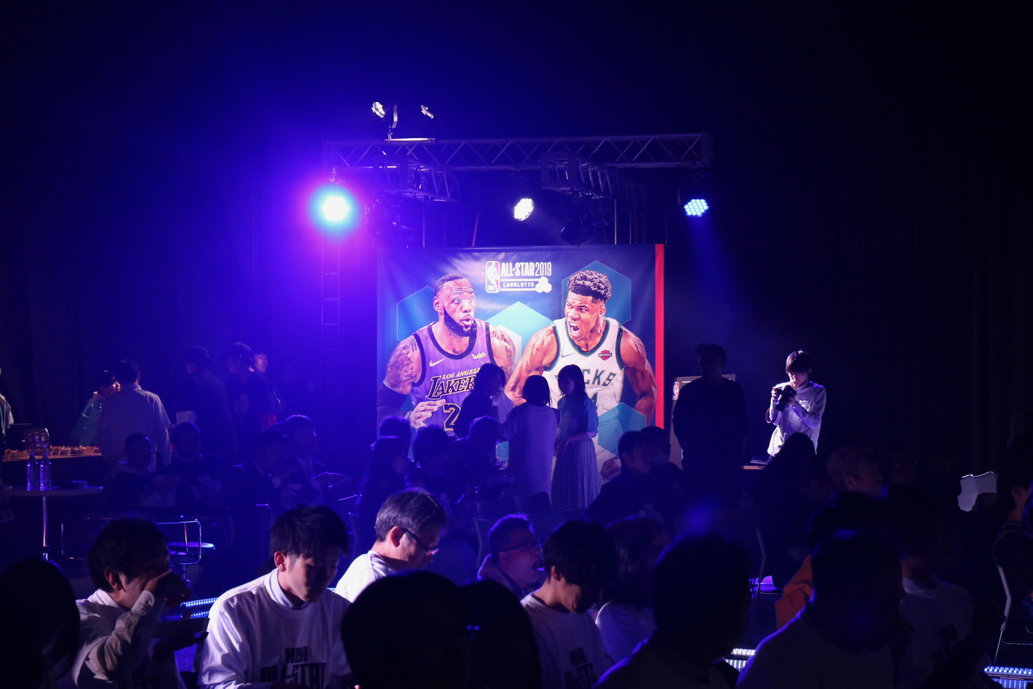 On February 18, NBA fans gathered at a studio under the iconic Tokyo Tower to take in the year's biggest basketball spectacle, presented by Rakuten TV.