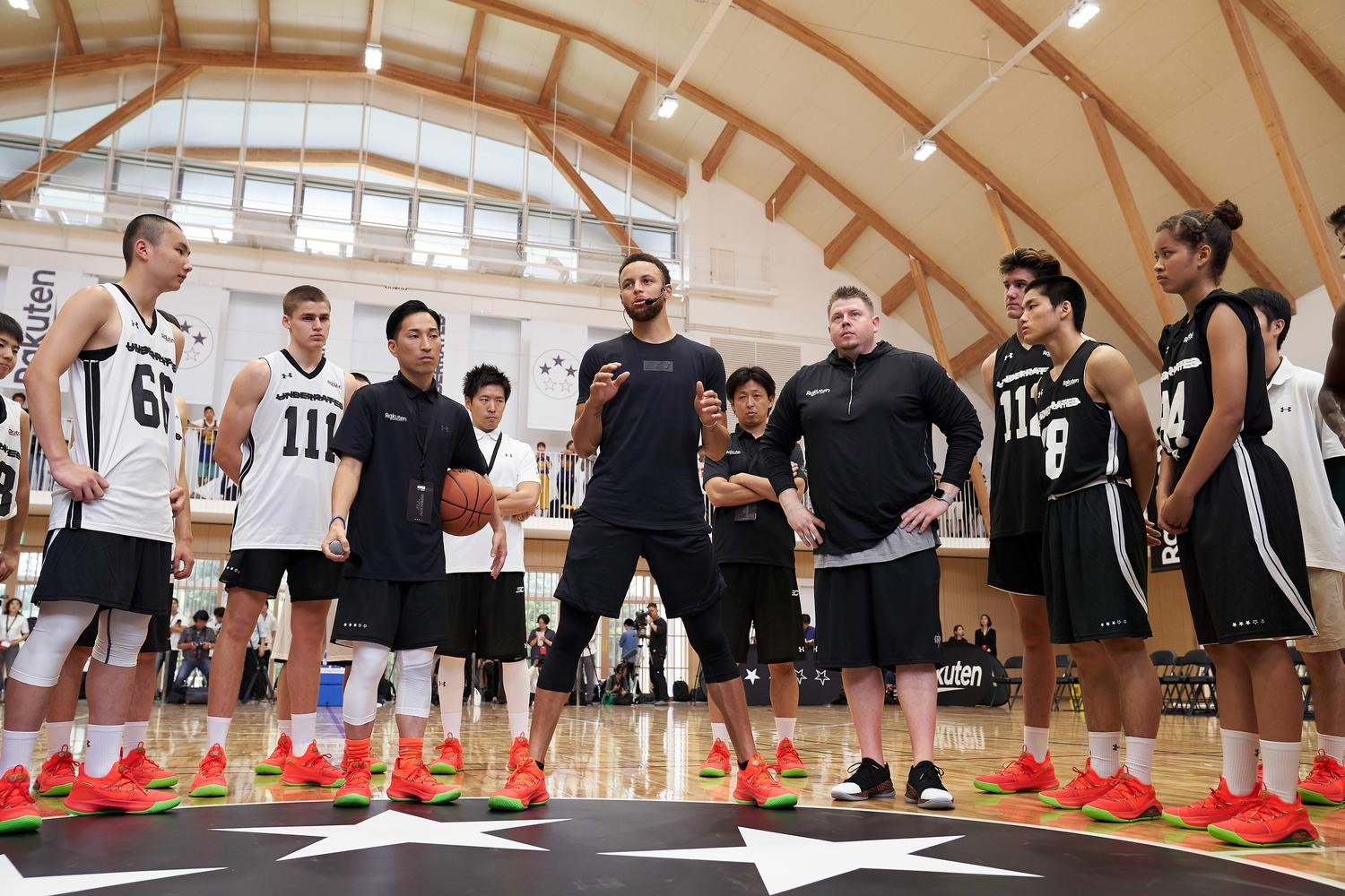 Tokyo was the final stop of the year for Stephen Curry's Underrated Tour and the first outside of the United States. Here were the highlights from the two day event.
