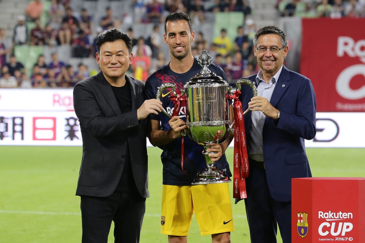 Before taking the field for their Rakuten Cup contest in Japan, FC Barcelona announced an exciting new partnership with J.League side Vissel Kobe.