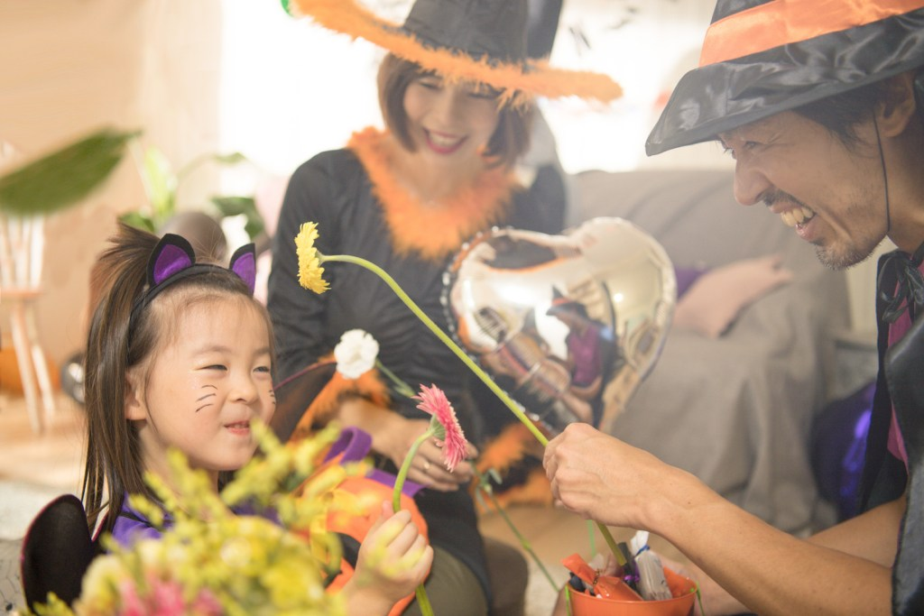 More than just dress-up: Today, Japanese Halloween is something to be celebrated at home.