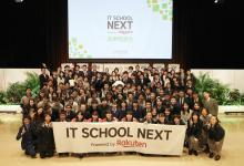 Rakuten IT School NEXT: Hope for the coming generations. These high schoolers are working to transform their communities.