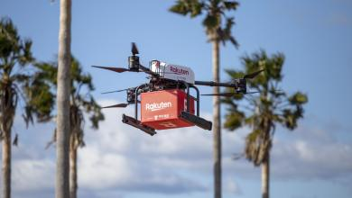 Rakuten Drone has trialed a new service delivering groceries directly from a mainland supermarket to the remote island of Masaki.