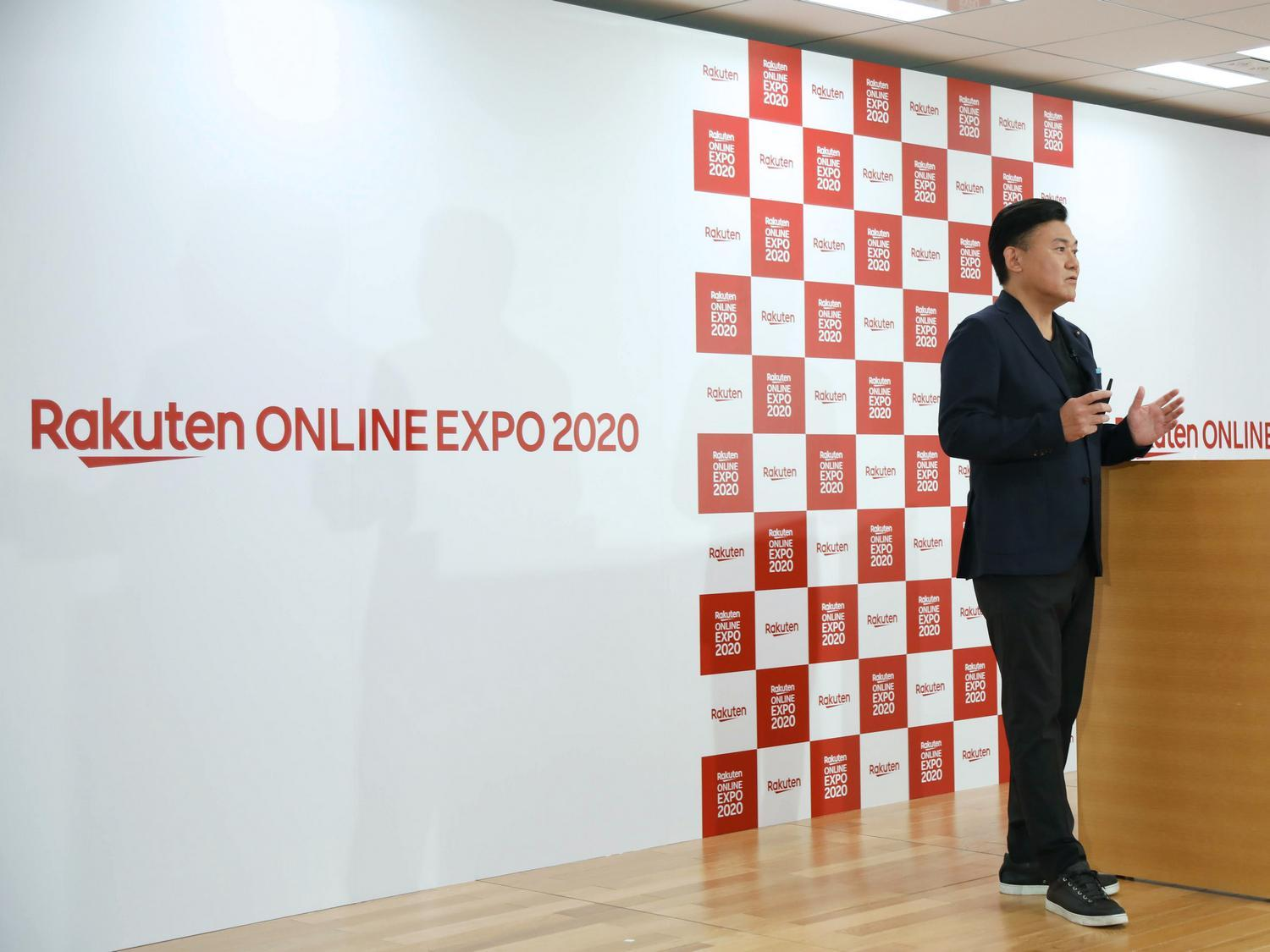 Rakuten CEO Mickey Mikitani addressed the Rakuten Ichiba merchant community remotely to review learnings from the year and share his vision for the future.