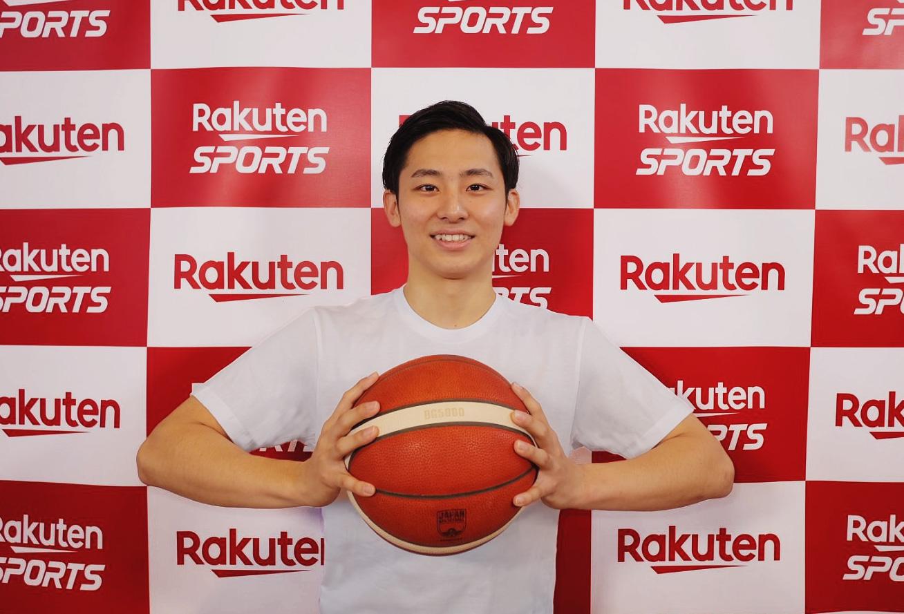 日本バスケ界の新星、河村 勇輝選手と楽天がタッグ。 共に描くネクストステップとは